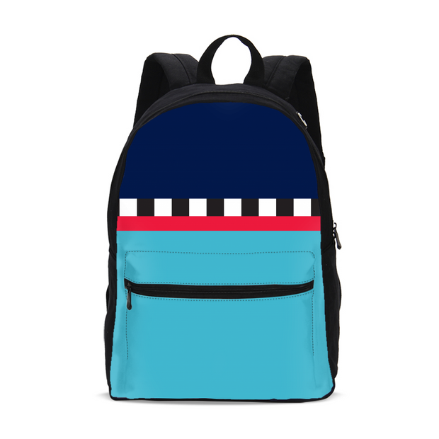 Hit the Slopes: Blue Horizon Small Backpack | G.O.A.T. GRAPHICS