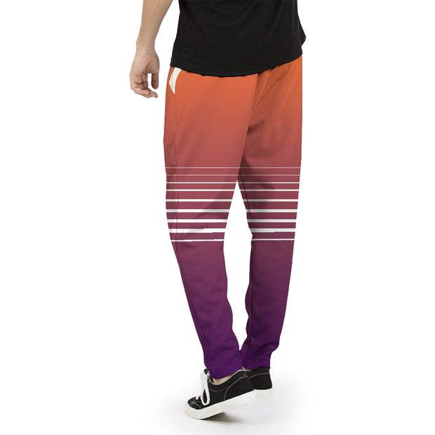 Totally Miami: Sunset Mens Joggers | G.O.A.T. GRAPHICS