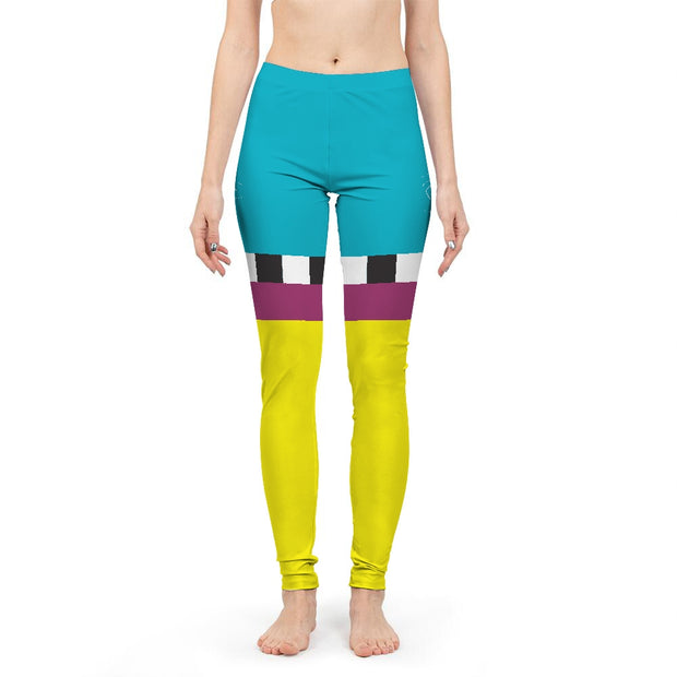 Hit the Slopes: Hazard Horizon Womens Leggings | G.O.A.T. GRAPHICS
