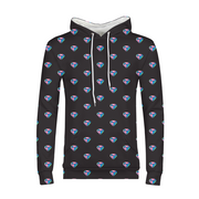 Diamond Pop Art Mens All-Over Hoodie | G.O.A.T. GRAPHICS