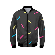 G.O.A.T. Speckles Mens Bomber Jacket | G.O.A.T. GRAPHICS