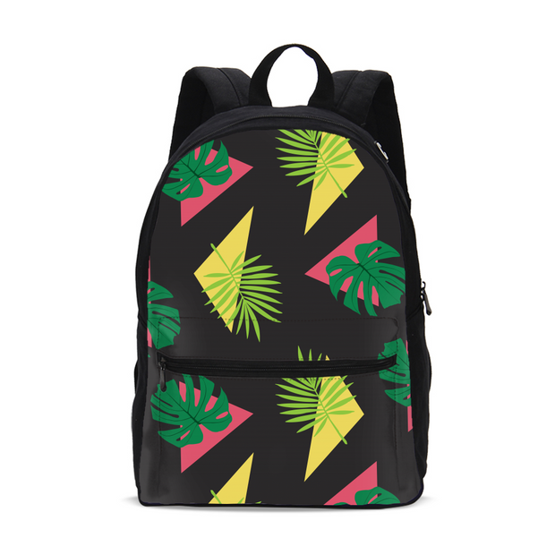 Party Officer Black Small Backpack | G.O.A.T. GRAPHICS
