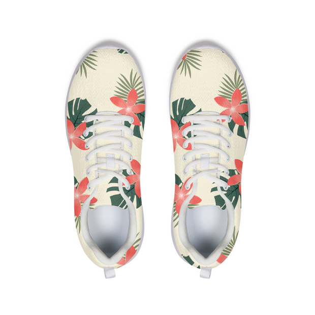 Aloha Breeze Cream Running Shoes | G.O.A.T. GRAPHICS