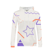 Scribbles Ladies All-Over Hoodie | G.O.A.T. GRAPHICS