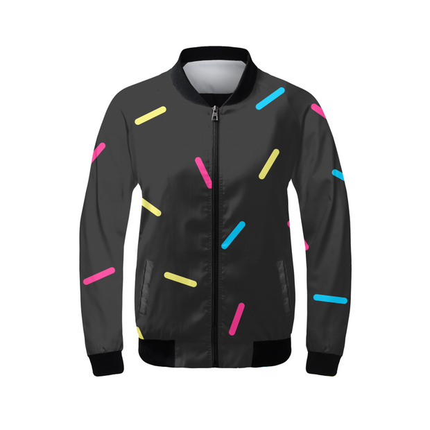 G.O.A.T. Speckles Ladies Bomber Jacket | G.O.A.T. GRAPHICS
