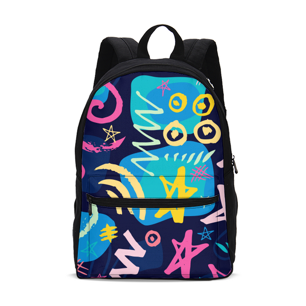 Trendy Print Small Backpack | G.O.A.T. GRAPHICS