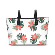 Aloha Breeze White Tote | G.O.A.T. GRAPHICS