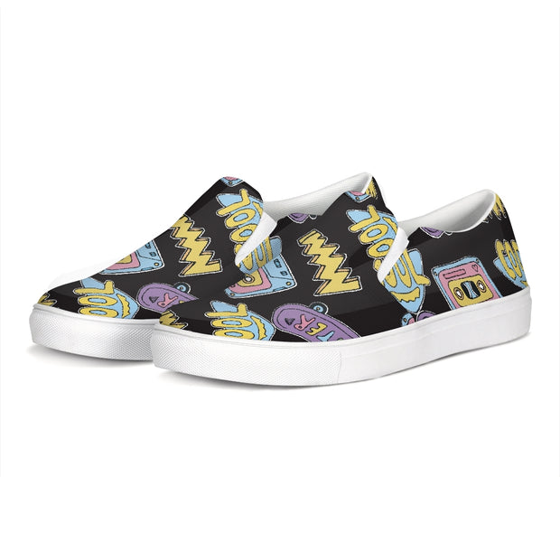 Cool Skater Pattern Boat Shoes | G.O.A.T. GRAPHICS