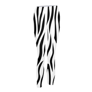 Zebra Stripes Womens Leggings | G.O.A.T. GRAPHICS
