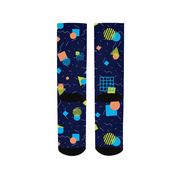 Splash That Geo: Ocean Reef Socks | G.O.A.T. GRAPHICS