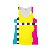 Hit the Slopes: So Solid Ladies All-Over Tank | G.O.A.T. GRAPHICS