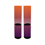 Totally Miami: Sunset Socks | G.O.A.T. GRAPHICS
