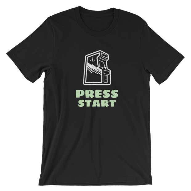 PRESS START Tee | G.O.A.T. GRAPHICS