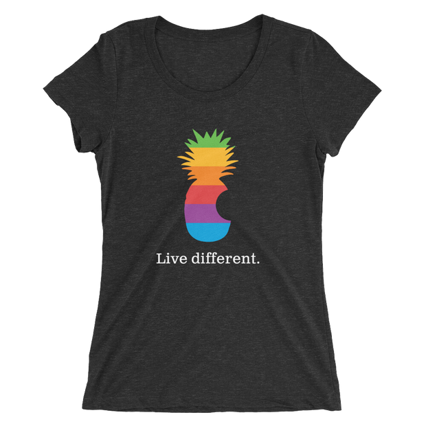 Live Different. Ladies Tee | G.O.A.T. GRAPHICS