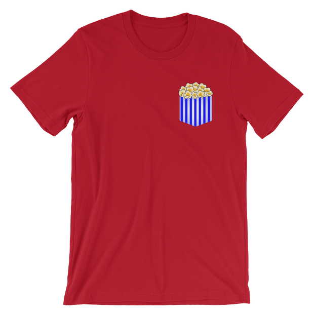 Fake Pocket with Popcorn Tee | G.O.A.T. GRAPHICS
