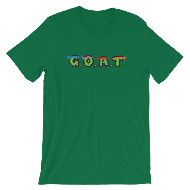 T.M.N.T. Green Tee | G.O.A.T. GRAPHICS