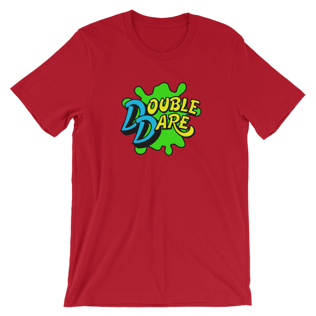 Double Dare Red Team Tee | G.O.A.T. GRAPHICS