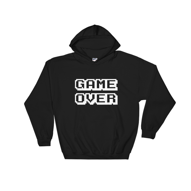 GameOver Hoodie | G.O.A.T. GRAPHICS