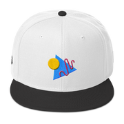 ShapeConfetti White/Black Snapback | G.O.A.T. GRAPHICS