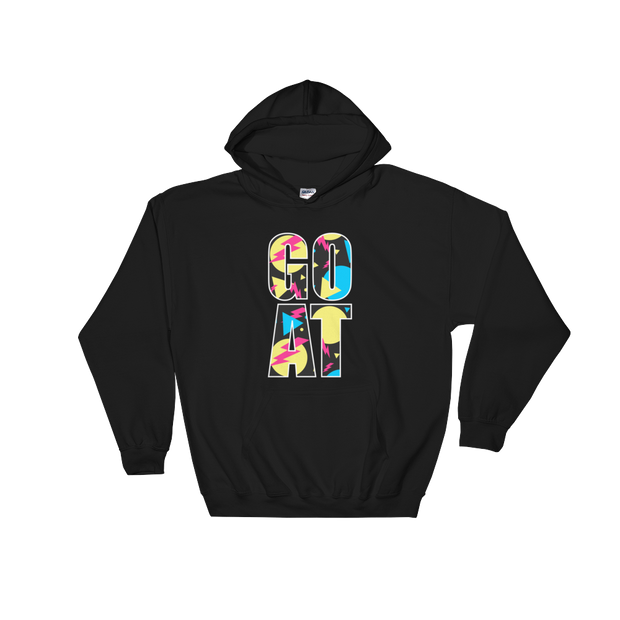 GOAT Black Hoodie | G.O.A.T. GRAPHICS