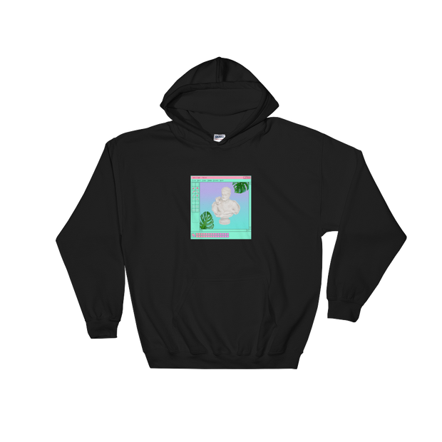 Untitled - Paint Black Hoodie | G.O.A.T. GRAPHICS