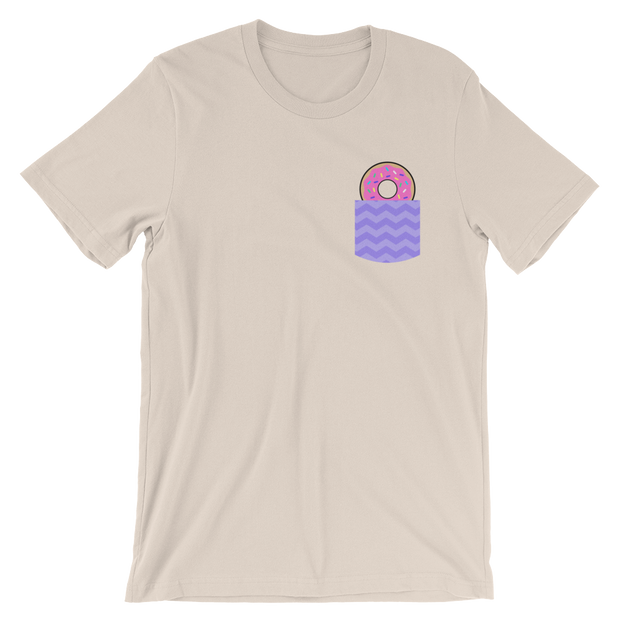 Fake Pocket with Donut Tee | G.O.A.T. GRAPHICS