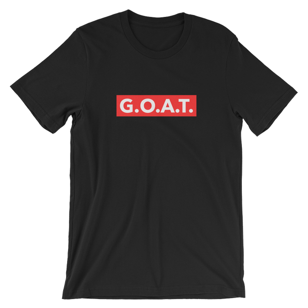 G.O.A.T. Skater Black Tee | G.O.A.T. GRAPHICS