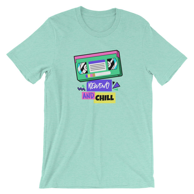 Rewind and Chill Tee | G.O.A.T. GRAPHICS