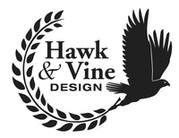 Hawk and Vine Design