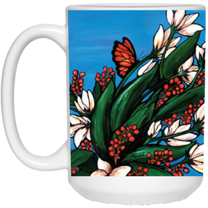 """Softly Sway Through Your Day"" Large Mug (15 oz.)"