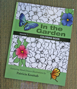 In the Garden Coloring Book: Volume 1