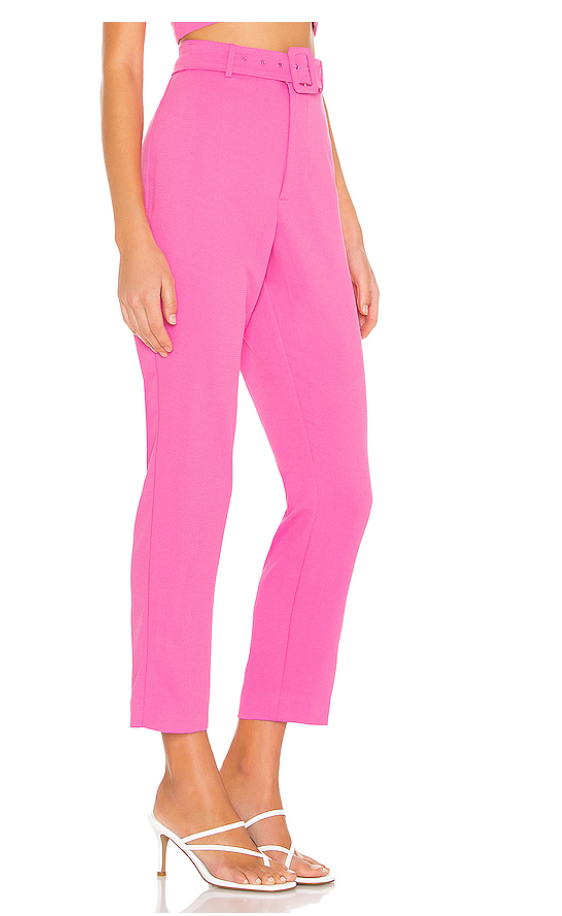 Pantalon Rosa High Waisted - ICONYWEAR