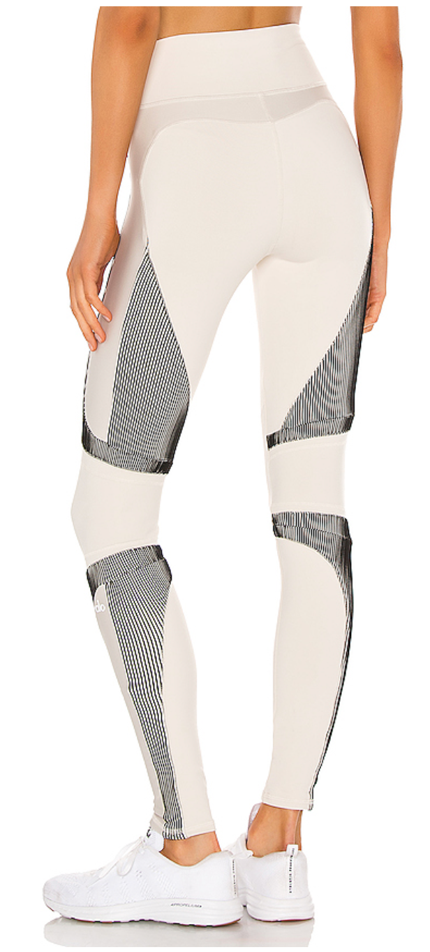 ALO High-Waist Electric Legging Bone - ICONYWEAR