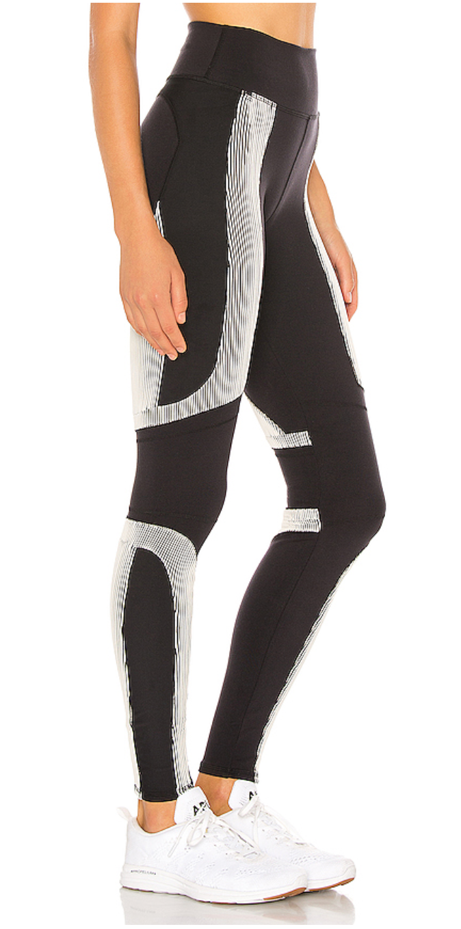 ALO High-Waist Electric Legging Black - ICONYWEAR