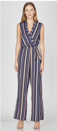 cded0b1ae3c2 Blaire Woven Side Tie Jumpsuit. ICONYWEAR