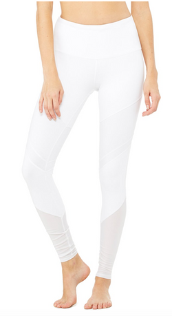 ALO High-Waist Sheila Legging white - ICONYWEAR