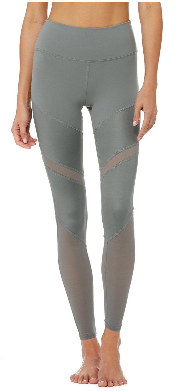 ALO  High-Waist Sheila Legging concrete - ICONYWEAR