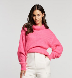 Sweater rosa neon - ICONYWEAR