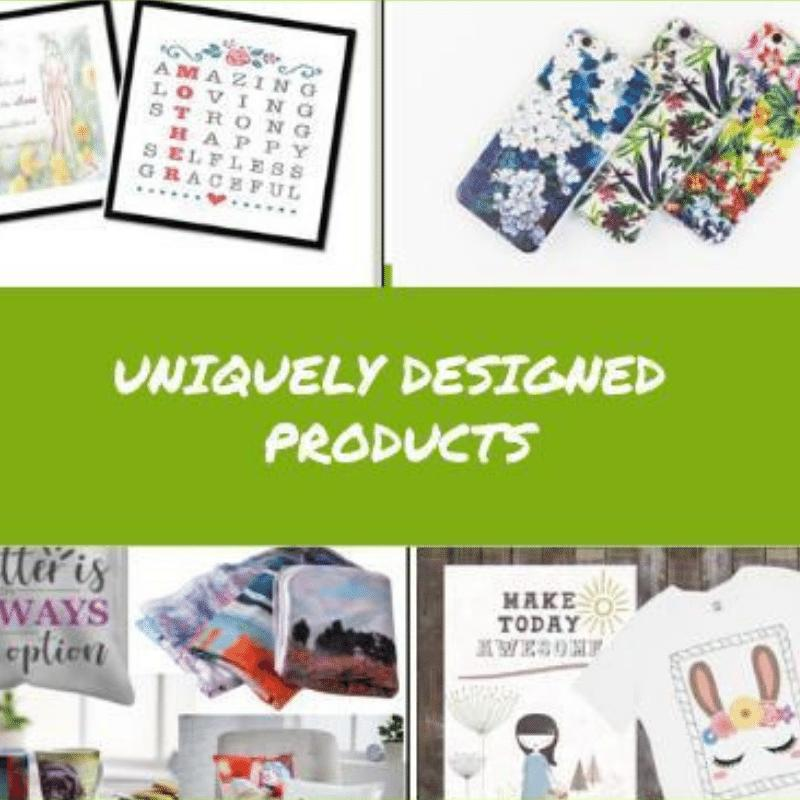 Uniquely Designed Products