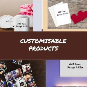 Customisable Products