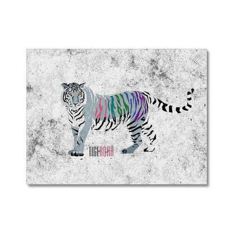 Abstract Tiger  Canvas - Treat Haven