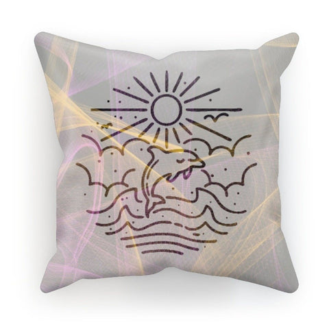 Dophin Line Art Cushion - Treat Haven