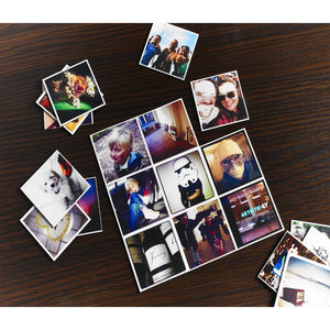 "Personalised Photo Fridge Magnet (4 images), 15x15cm / 6x6"" - Add 4 Photos - Treat Haven"