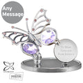 Personalised Crystocraft Butterfly Ornament - Treat Haven