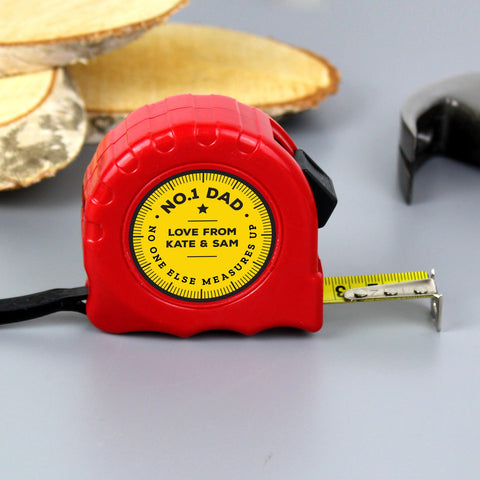 Personalised Measuring Tape - Great For D.I.Y Lovers
