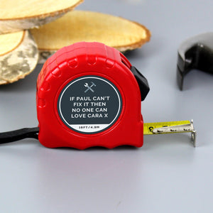 Personalised Tape Measure - Add Message