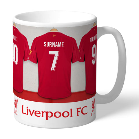 Personalised Dressing Room Mug -  Liverpool FC - Treat Haven