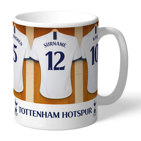 Personalised Dressing Room Mug -  Tottenham Hotspur FC - Treat Haven