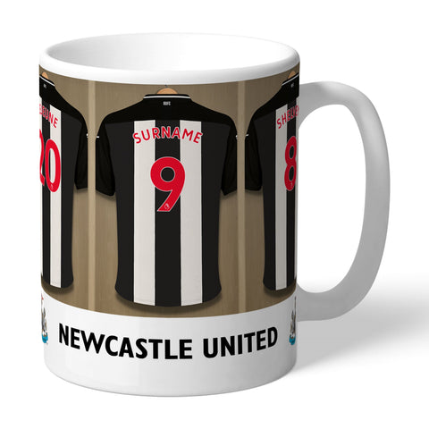 Personalised Dressing Room Mug - Newcastle United FC - Treat Haven