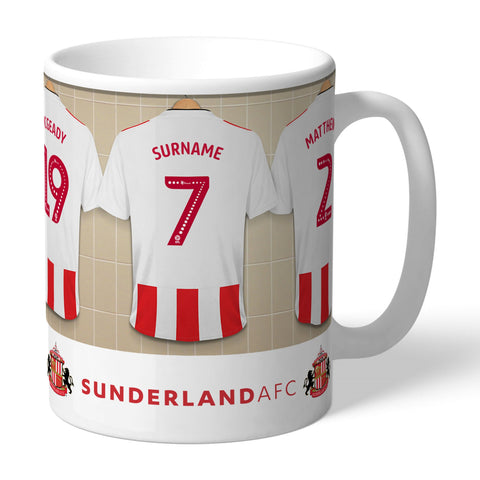 Personalised Dressing Room Mug - Sunderland AFC - Treat Haven